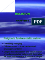 Religion is Fundamental to Culture.