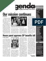 dcagenda.com - vol. 1, issue 1 - november 20, 2009