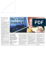 She's foster mum to 43, 10 Sep 2008, Straits Times