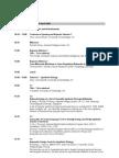 BioSysBio 2008 Conference Full Schedule