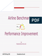Airline Benchmarking and Performance Improvement