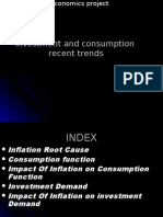 Investment and Consumption Recent Trends