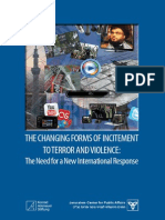 Changing Forms of Incitement to Terror and Violence