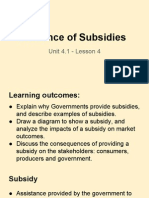 unit 4 1 - lesson 4 - incidence of subsidies 1