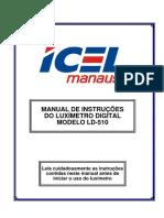 Luximetro Ld-510 Manual