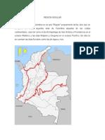 Region Insular de Colombia y Sus Departamentos