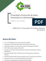 Privacidad y Protección de Datos Personales en Latinoamérica
