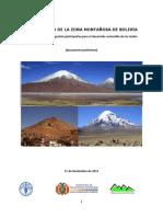 Diagnostico Montañas de Bolivia