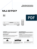 Pioneer Mjd707