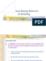 (3) Customer Buying Behavior & Retailing