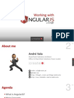 Working With Angular Js