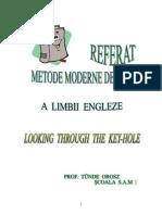 Metode Moderne de Predare in Limba Engleza