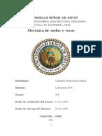 Informe de Corte Directo