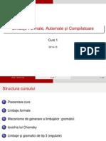 Limbaje Formale Automate si compilatoare