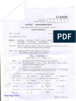 x Maths Paper April 2012 Kc