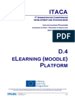Itaca project - eLearning platform