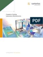 CATA-Complete Catalogue Laboratory Mechatronics-e