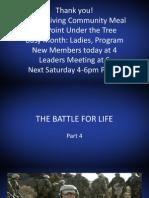 Battle of Life Part 5