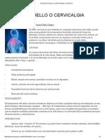 Dolor de Cuello o Cervicalgia _ Fisioteca