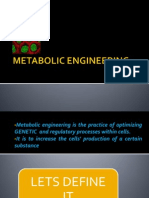 3.3 Metabolic Engineering