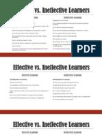 effective vs