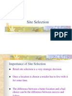 (6) Site Selection