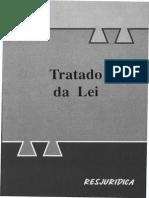 Tomás de Aquino - Tratado Da Lei