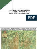 París, Intervenciones Históricas