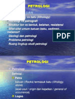 Petrologi beku