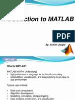 MATLAB Tutorial By Ashish Jangid