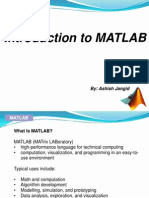 MATLAB Tutorial By Ashish Jangid