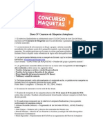 Bases IV Concurso de Maquetas Autoplacer