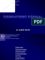 Disrrafismo Espinal