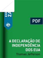 A Declaracao de Independencia d - Thomas Jefferson