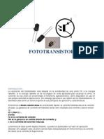 Fototransistores y Optoacopladores