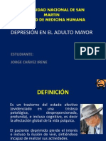 Depresion en Adulto Mayor