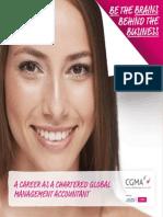 CIMA Global Student Recruitment Brochure2014