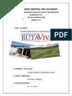 Informe Total de La Ruta Viva Fase I y Fase II
