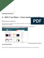 4 – MVC 3 con Razor ~ Como insertar un template - Moisés Rivas