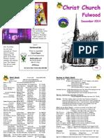 Christ Church Fulwood Magazine Dec 14