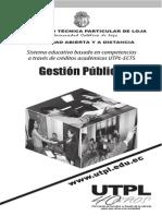 Gestion Pública UTPL Malla Curricular