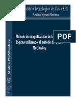 Metodo McCluskey