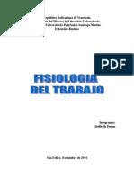 La Fisiología Del Trabajo