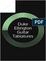 Duke Ellington Guitar Tablature - Jason Lee