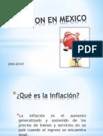 Inflacion en Mexico