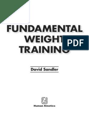 David Sandler-Fundamental weight training-Human Kinetics