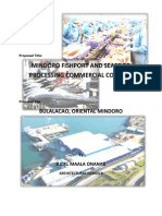 Mindoro Fishport and Seafood Processing Commercial Complex