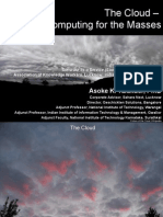 Cloud Computing4Masses Lucknow13Mar10