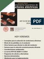 Seleccion Económicamente Eficiente de Conductores electricos