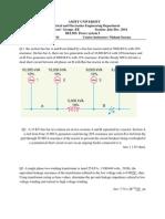 Tute Sheet 1 PS 5th Xem